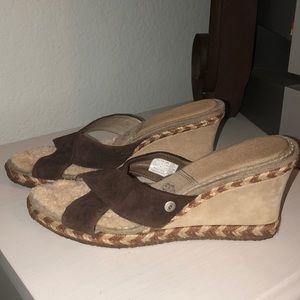 Ugg Sandal upper leather